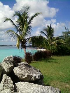 Miami Beach in the distance