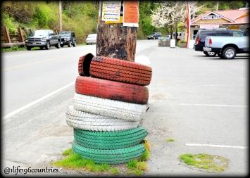 tires pole
