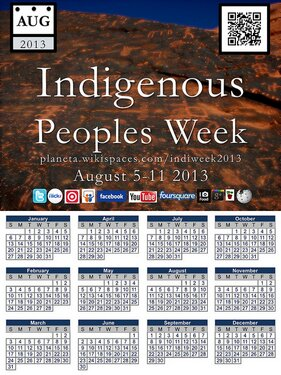 Are you participating in Indigenous People's Week?