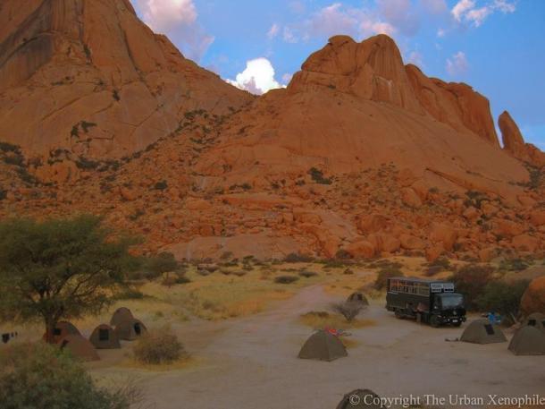 trip to namibia