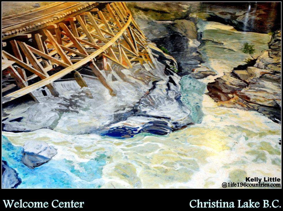 3D Floor at Christina Lake Welcome Center