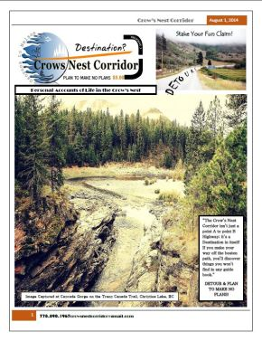 Crows Nest Corridor Magazine – Life in Boundary Country